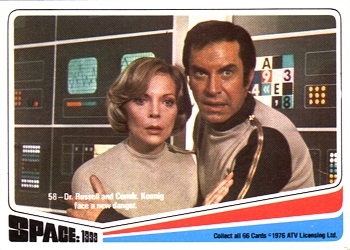 Image result for space 1999 cards