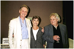Christopher Penfold, Zienia Merton, and Johnny Byrne