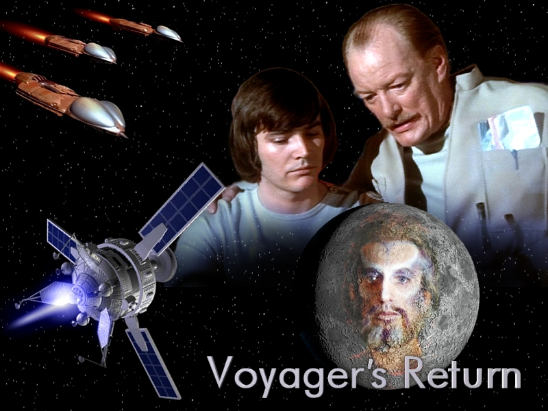 Image result for space 1999 voyager's return
